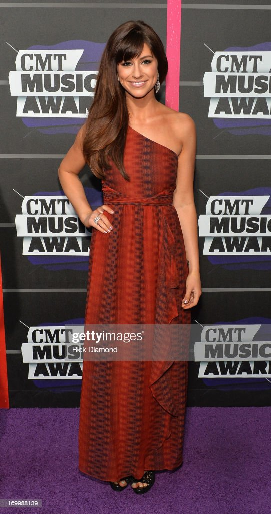 Singer Rachel Reinert attends the 2013 CMT Music awards at the Bridgestone Arena on June 5, 2013 in Nashville, Tennessee.