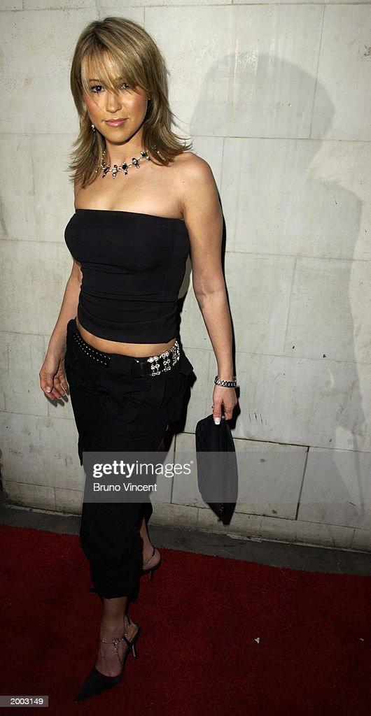 Singer Rachel Stevens arrives at the Launch party of Rex Cinema, May 15, 2003 Rupert Stree, Soho, London, United Kingdom.
