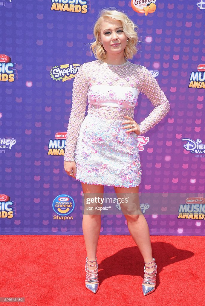 Singer RaeLynn arrives at the 2016 Radio Disney Music Awards at Microsoft Theater on April 30, 2016 in Los Angeles, California.