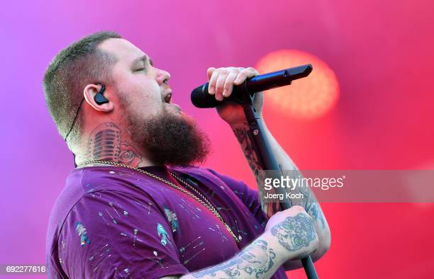 Singer Rag 'n' Bone Man performs at Zeppelinfeld on June 4 2017 in Nuremberg Germany