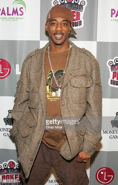 B singer Ralph Tresvant arrives at the LG AllStar Poker Showdown and Party at the Palms Casino Resort December 18 2005 in Las Vegas Nevada About 50...