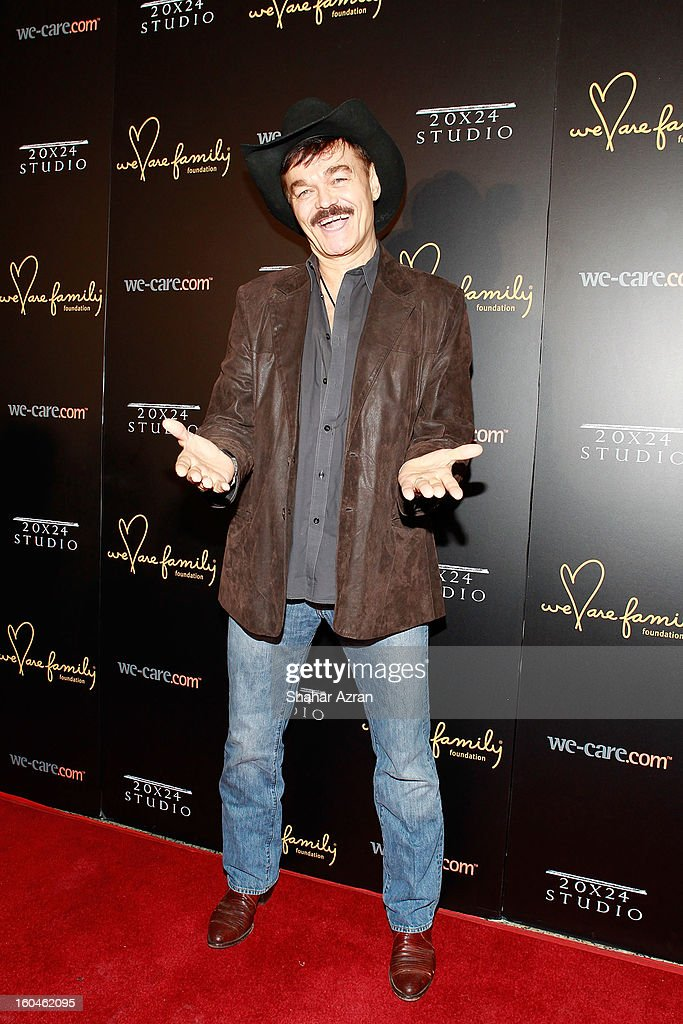 Singer Randy Jones attends 2013 We Are Family Foundation Gala at Hammerstein Ballroom on January 31, 2013 in New York City.