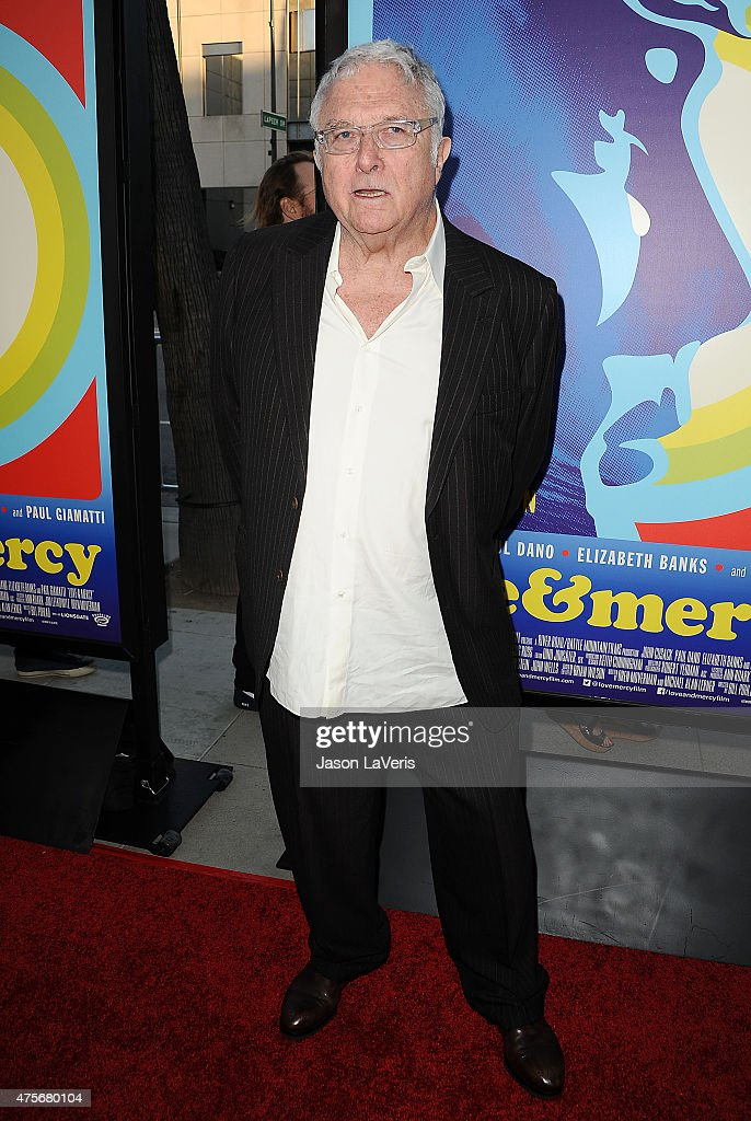 Singer Randy Newman attends the premiere of 'Love & Mercy' at Samuel Goldwyn Theater on June 2, 2015 in Beverly Hills, California.