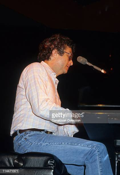 Singer Randy Newman performs in 1984 in Los Angeles California
