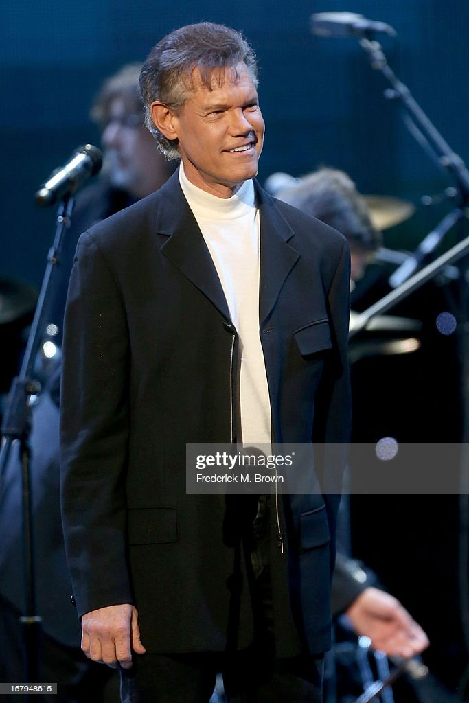 Singer Randy Travis onstage at the American Giving Awards presented by Chase held at the Pasadena Civic Auditorium on December 7 2012 in Pasadena...