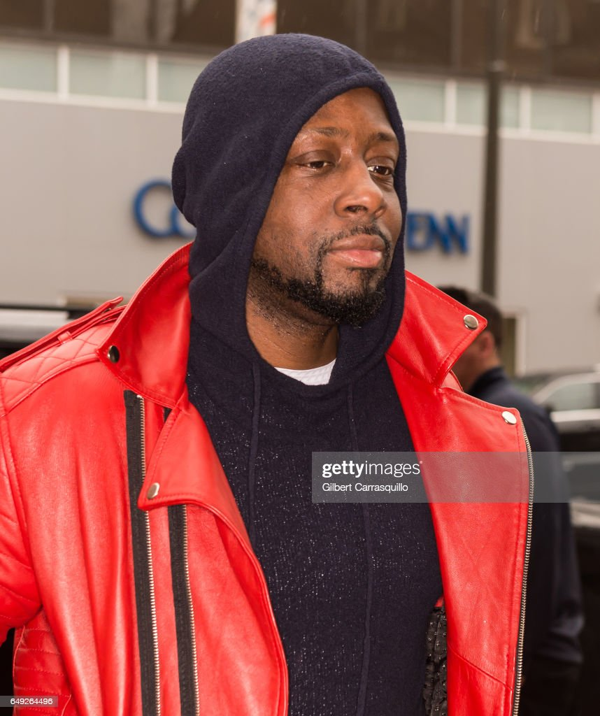 Singer, rapper, musician and actor Wyclef Jean visits FOX 29 Studio to promote His new EP, titled J'Ouvert on March 7, 2017 in Philadelphia, Pennsylvania.