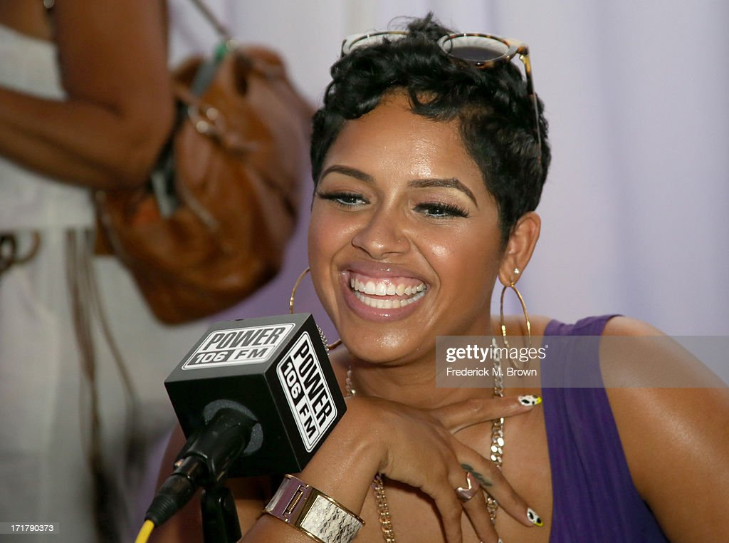 Singer RaVaughn attends Radio Room Day 1 during the 2013 BET Awards at JW Marriott Los Angeles at L.A. LIVE on June 28, 2013 in Los Angeles, California.