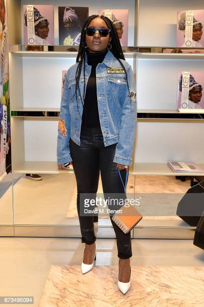 Singer Ray BLK attends 'Gidi Gidi Bu Ugwu Eze Unity Is Strength' an exhibition of images and video directed by Akinola Davies Jr and photographed by...