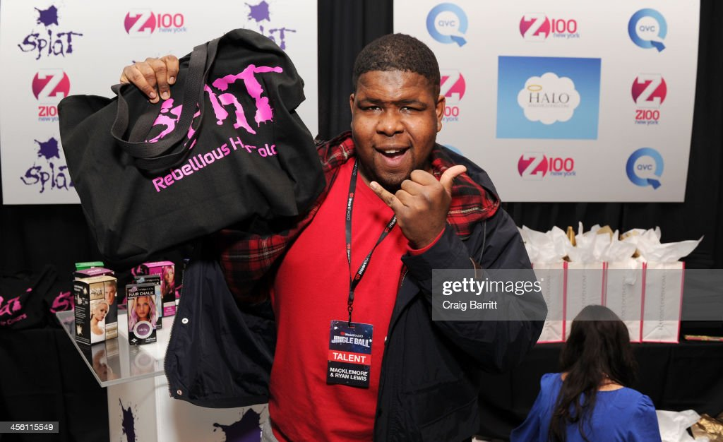 Singer Ray Dalton attends the Z100's Artist Gift Lounge presented by AXE at Z100's Jingle Ball 2013 at Madison Square Garden on December 13, 2013 in New York City.