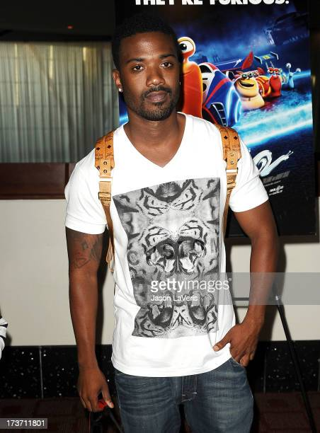Singer Ray J attends a screening of 'Turbo' at ArcLight Hollywood on July 16 2013 in Hollywood California