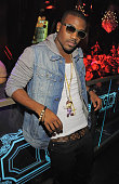 Singer Ray J attends Chateau Nightclub Gardens at Paris Las Vegas on August 20 2011 in Las Vegas Nevada