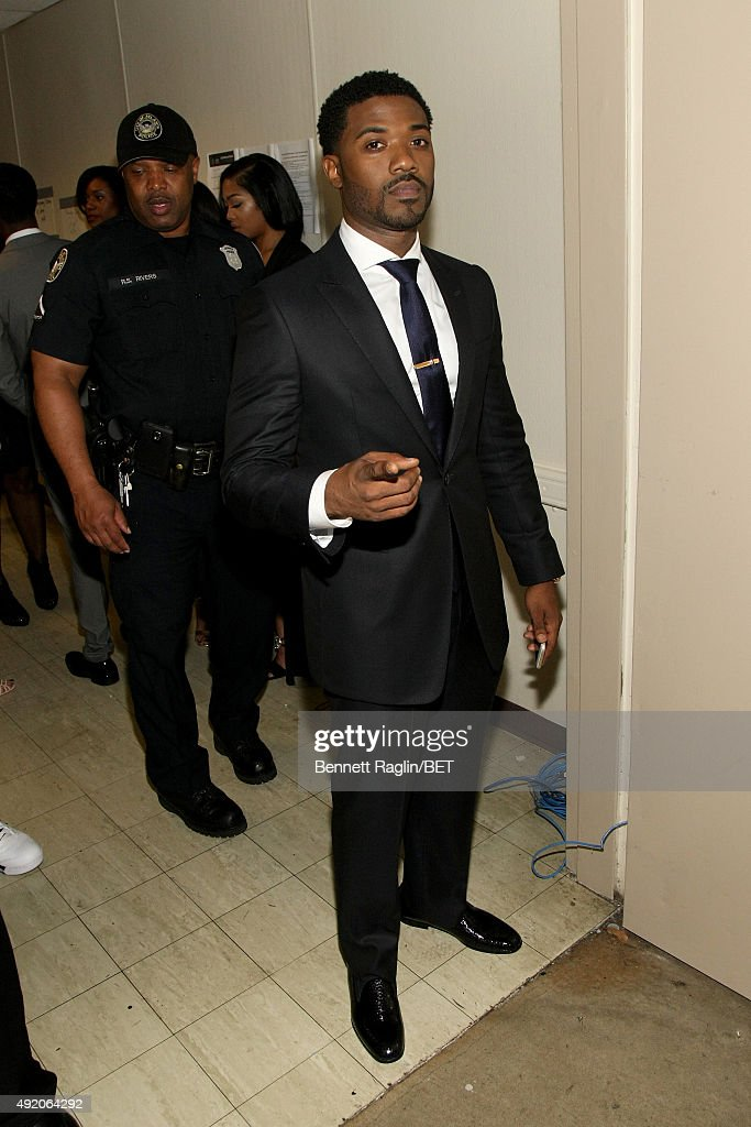 Singer Ray J attends the BET Hip Hop Awards Show 2015 at the Atlanta Civic Center on October 9 2015 in Atlanta Georgia