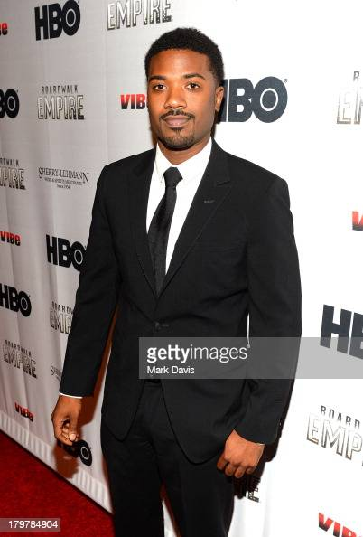 Singer Ray J attends the HBO 'Boardwalk Empire' season premiere hosted by Sean 'Diddy' Combs at the Carondelet House on September 6 2013 in Los...