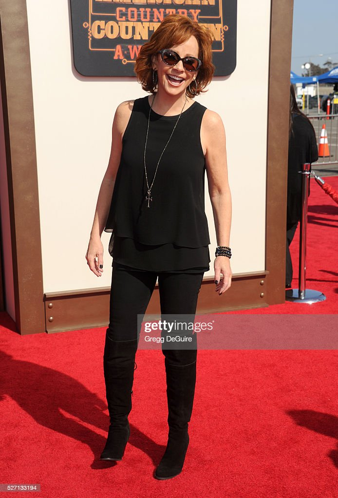 Singer Reba McEntire arrives at the 2016 American Country Countdown Awards at The Forum on May 1, 2016 in Inglewood, California.