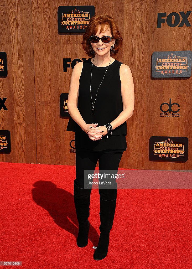 Singer Reba McEntire attends the 2016 American Country Countdown Awards at The Forum on May 01, 2016 in Inglewood, California.