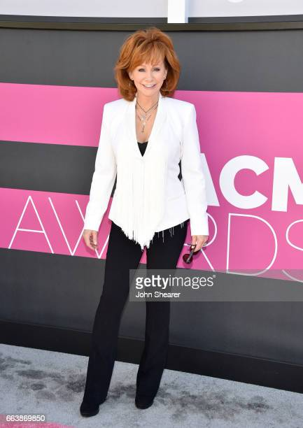 Singer Reba McEntire attends the 52nd Academy Of Country Music Awards at Toshiba Plaza on April 2 2017 in Las Vegas Nevada