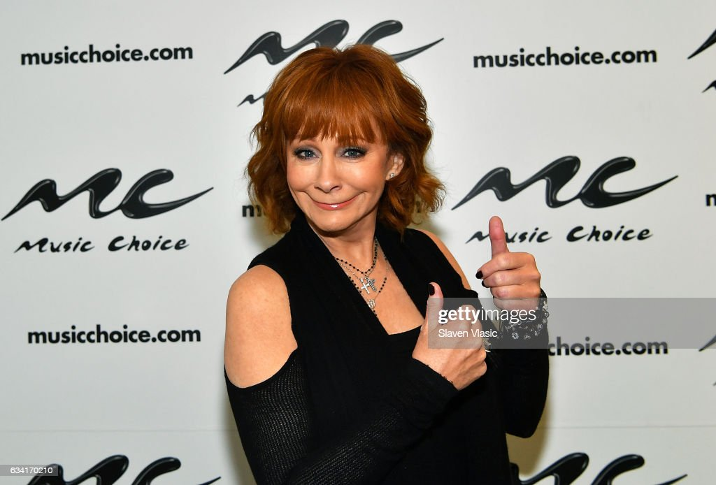 Reba McEntire Visits Music Choice
