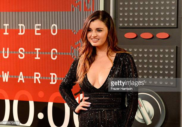 Singer Rebecca Black attends the 2015 MTV Video Music Awards at Microsoft Theater on August 30 2015 in Los Angeles California