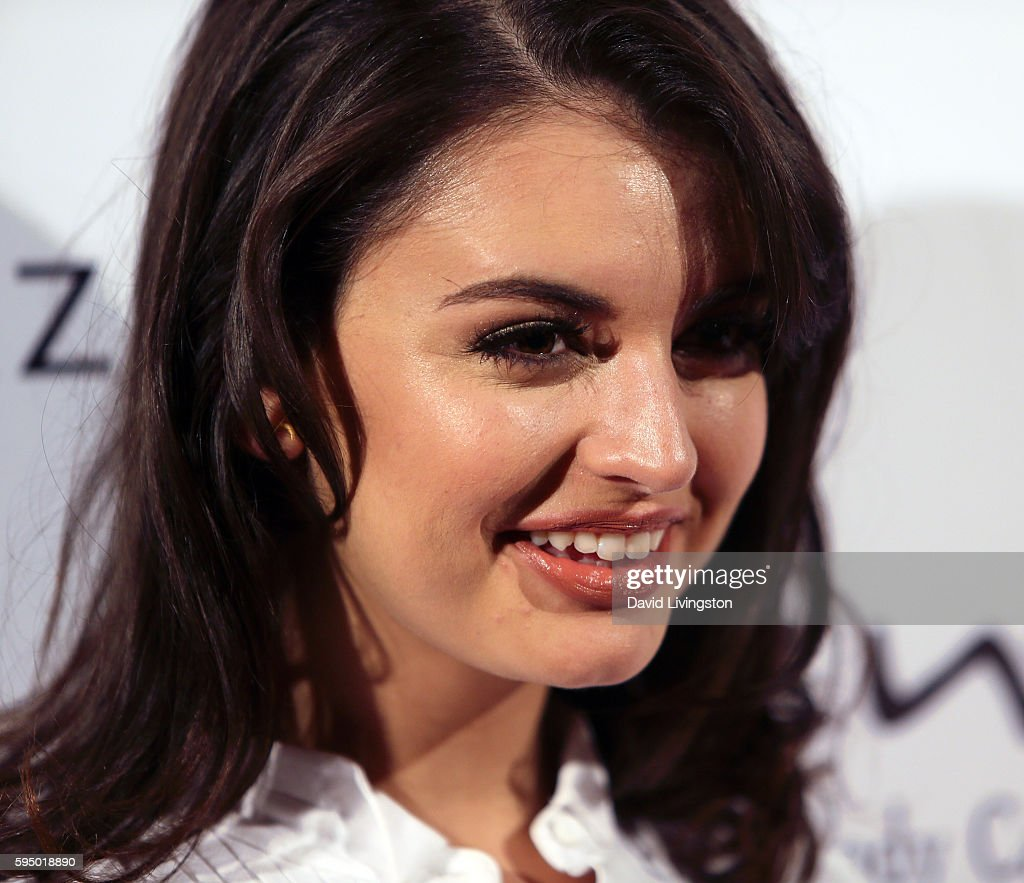 Singer Rebecca Black attends the MakeAWish Greater Los Angeles Fashion Fundraiser at Taglyan Cultural Complex on August 24 2016 in Hollywood...