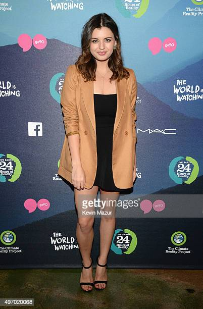 Singer Rebecca Black attends 'The World Is Watching New Faces of Change' Segment Of '24 Hours Of Reality And Live Earth The World Is Watching' on...
