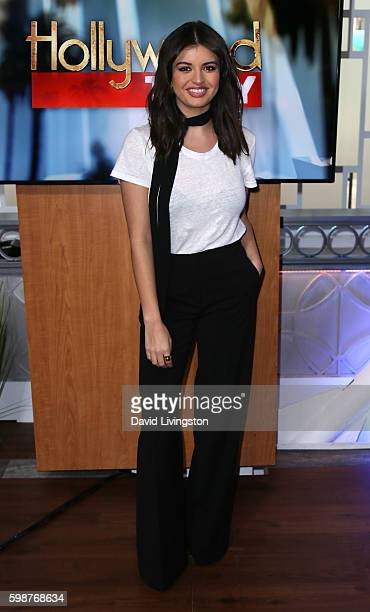 Singer Rebecca Black visits Hollywood Today Live on September 2 2016 in Hollywood California