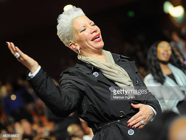 Singer Rebecca KingCrews attends the 16th Annual Super Bowl Gospel Celebration at ASU Gammage on January 30 2015 in Tempe Arizona