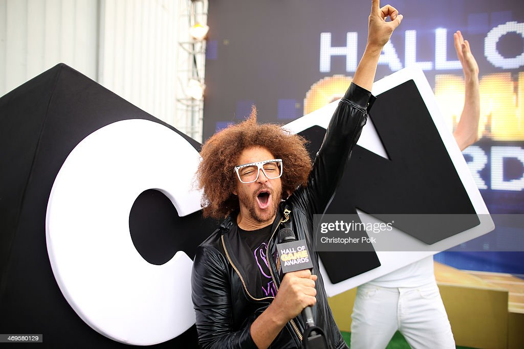 Singer <a gi-track='captionPersonalityLinkClicked' href=/galleries/search?phrase=Redfoo&family=editorial&specificpeople=5857552 ng-click='$event.stopPropagation()'>Redfoo</a> attends Cartoon Network's fourth annual Hall of Game Awards at Barker Hangar on February 15, 2014 in Santa Monica, California.