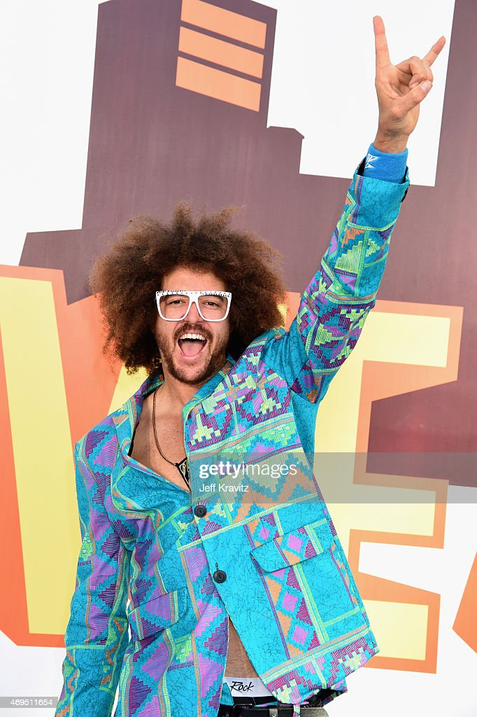 Singer Redfoo attends The 2015 MTV Movie Awards at Nokia Theatre L.A. Live on April 12, 2015 in Los Angeles, California.