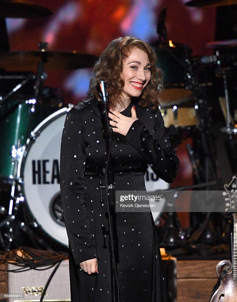 Singer Regina Spector performs onstage during MusiCares Person of the Year honoring Tom Petty at the Los Angeles Convention Center on February 10, 2017 in Los Angeles, California.