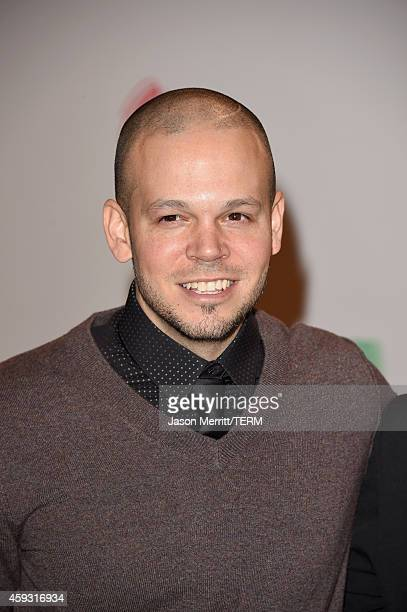 Singer Rene Perez Joglar of Calle 13 attends the 15th Annual Latin GRAMMY Awards at the MGM Grand Garden Arena on November 20 2014 in Las Vegas Nevada