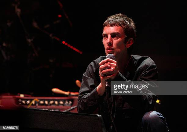 Singer Richard Ashcroft from the band The Verve performs during day 1 of the Coachella Valley Music And Arts Festival held at the Empire Polo Field...