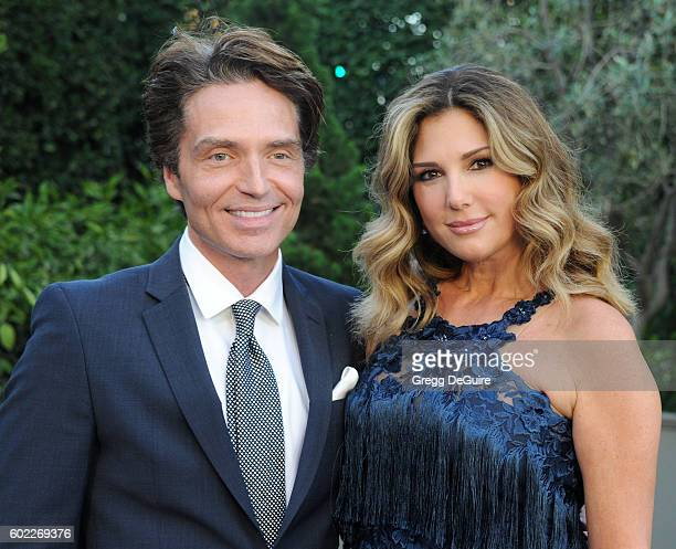 Singer Richard Marx and Daisy Fuentes arrive at Mercy For Animals Hidden Heroes Gala 2016 at Vibiana on September 10 2016 in Los Angeles California