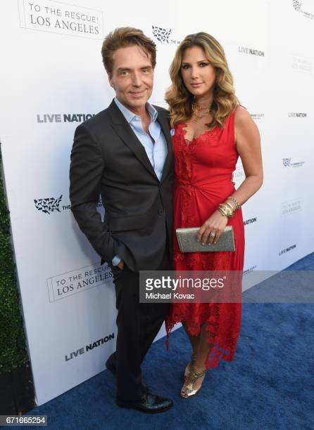 Singer Richard Marx and Tv personality Daisy Fuentes at The Humane Society of the United States' To the Rescue Los Angeles Gala at Paramount Studios...