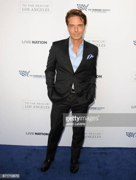 Singer Richard Marx attends Humane Society of The United States' annual To The Rescue Los Angeles benefit at Paramount Studios on April 22 2017 in...