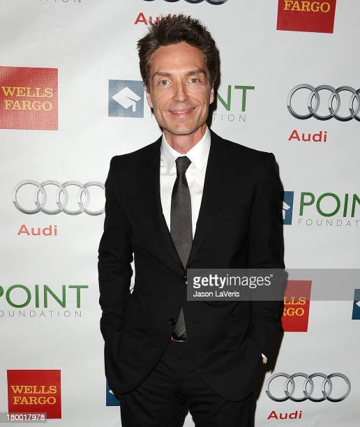 Singer Richard Marx attends the Voices On Point musical gala to benefit the Point Foundation at the Hyatt Regency Century Plaza on September 7 2013...