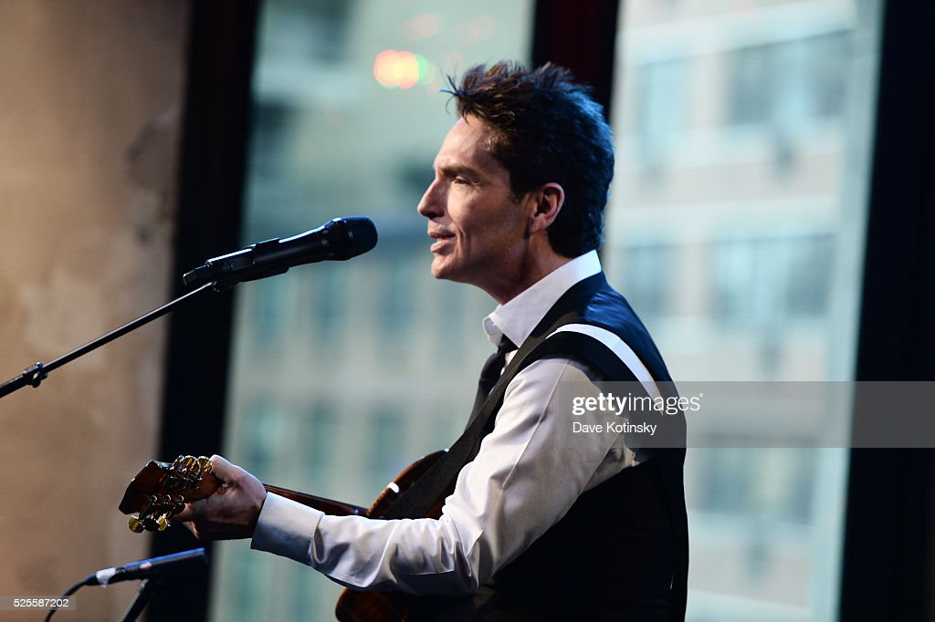 Singer <a gi-track='captionPersonalityLinkClicked' href=/galleries/search?phrase=Richard+Marx&family=editorial&specificpeople=227408 ng-click='$event.stopPropagation()'>Richard Marx</a> performs at AOL Studios In New York on April 28, 2016 in New York City.