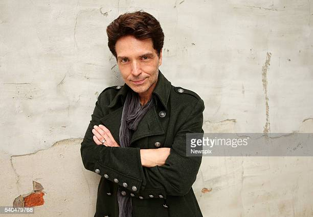 Singer Richard Marx poses during a photo shoot in Melbourne Victoria