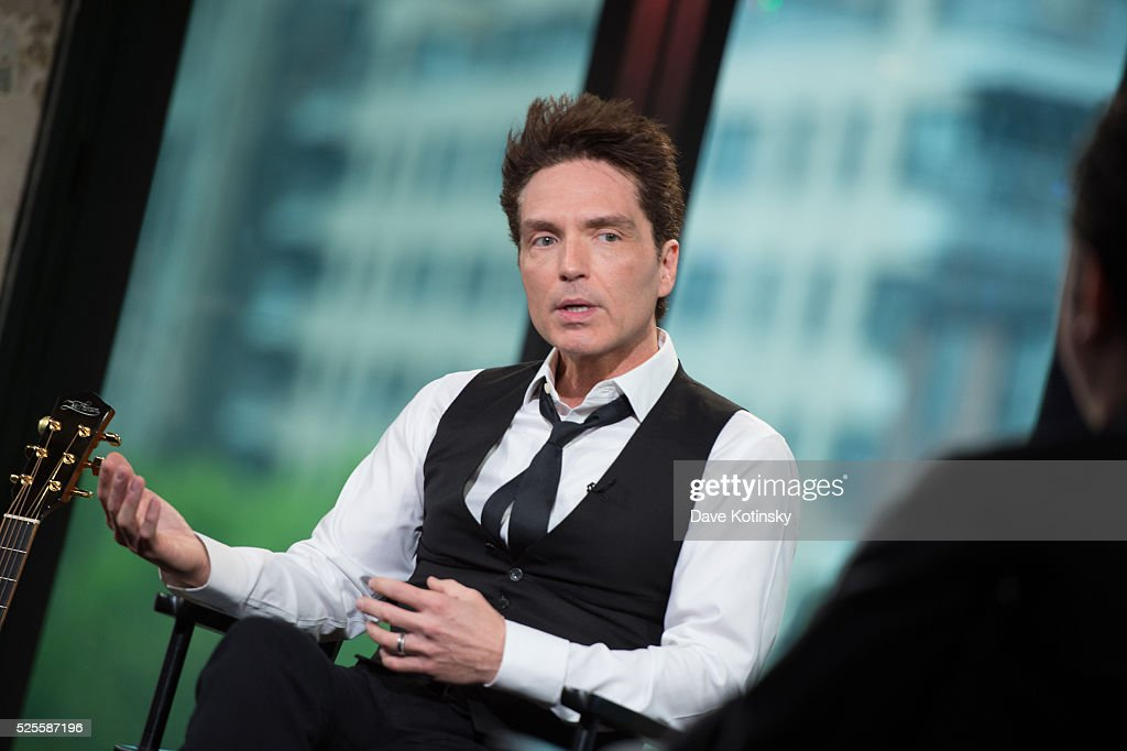 Singer <a gi-track='captionPersonalityLinkClicked' href=/galleries/search?phrase=Richard+Marx&family=editorial&specificpeople=227408 ng-click='$event.stopPropagation()'>Richard Marx</a> speaks at AOL Studios In New York on April 28, 2016 in New York City.