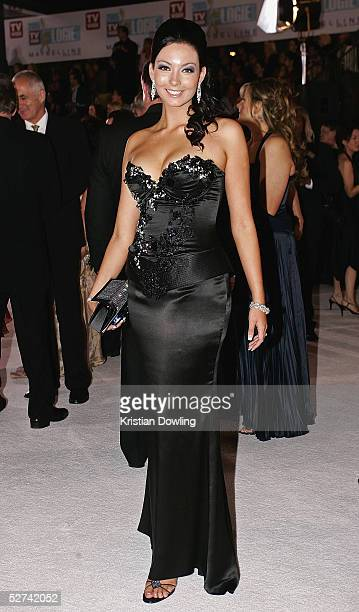 Singer RickiLee Coulter arrives at the 47th Annual TV Week Logie Awards at the Crown Entertainment Complex May 1 2005 in Melbourne Australia
