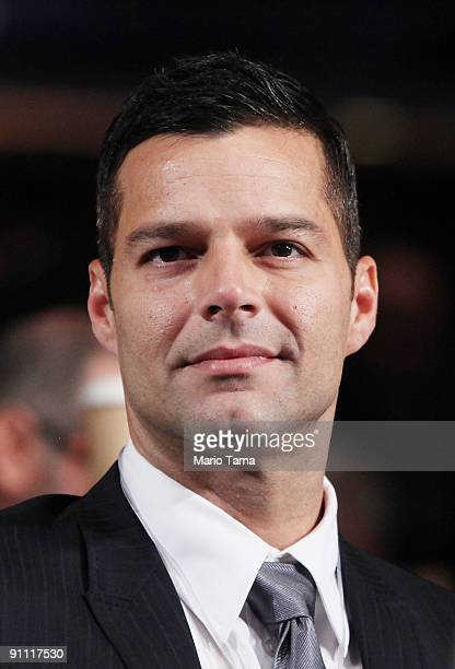 Singer Ricky Martin appears at the Clinton Global Initiative September 24 2009 in New York City The Fifth Annual Meeting of the Clinton Global...