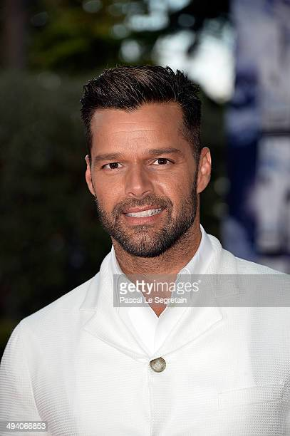 Singer Ricky Martin arrives the World Music Awards at Sporting MonteCarlo on May 27 2014 in MonteCarlo Monaco