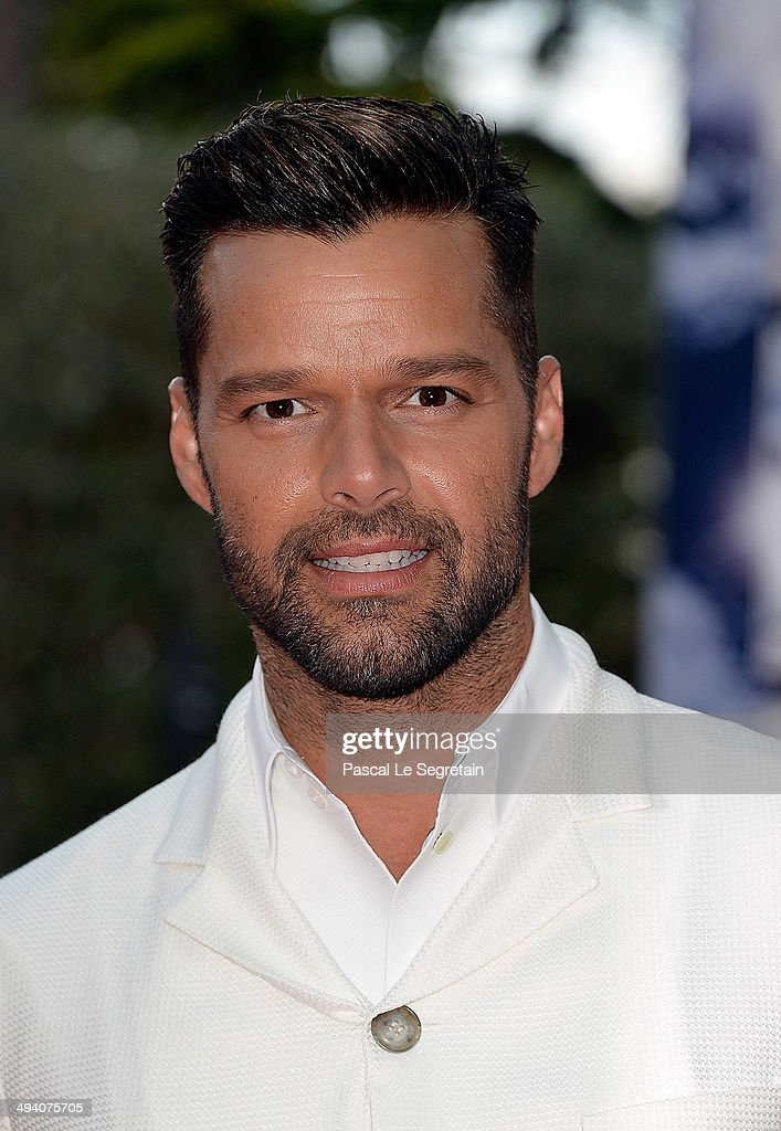 Singer <a gi-track='captionPersonalityLinkClicked' href=/galleries/search?phrase=Ricky+Martin&family=editorial&specificpeople=160450 ng-click='$event.stopPropagation()'>Ricky Martin</a> arrives the World Music Awards at Sporting Monte-Carlo on May 27, 2014 in Monte-Carlo, Monaco.