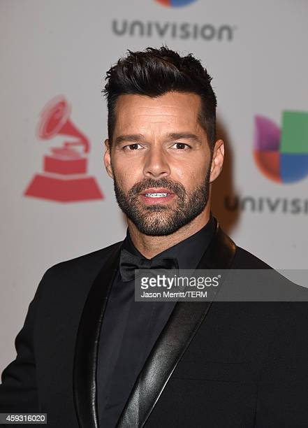 Singer Ricky Martin attends the 15th Annual Latin GRAMMY Awards at the MGM Grand Garden Arena on November 20 2014 in Las Vegas Nevada