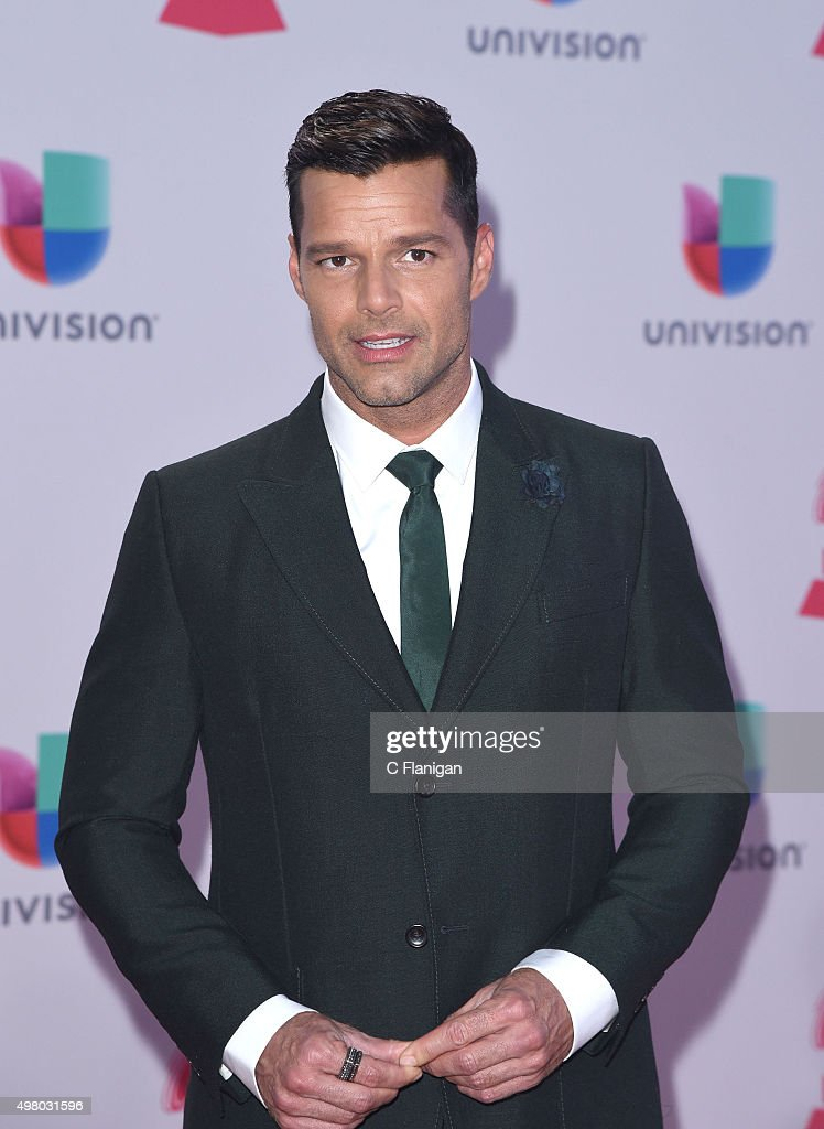 Singer Ricky Martin attends the 16th Annual Latin GRAMMY Awards at the MGM Grand Garden Arena on November 19, 2015 in Las Vegas, Nevada.