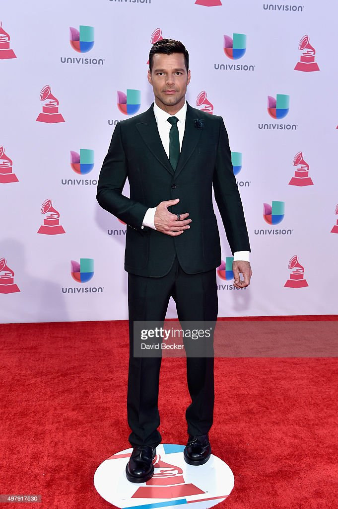 Singer <a gi-track='captionPersonalityLinkClicked' href=/galleries/search?phrase=Ricky+Martin&family=editorial&specificpeople=160450 ng-click='$event.stopPropagation()'>Ricky Martin</a> attends the 16th Latin GRAMMY Awards at the MGM Grand Garden Arena on November 19, 2015 in Las Vegas, Nevada.