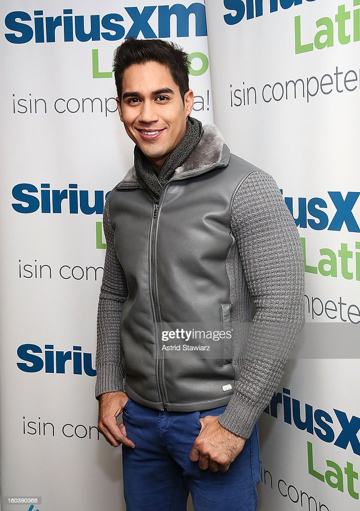 Singer Rigu visits the SiriusXM Studios on January 30, 2013 in New York City.