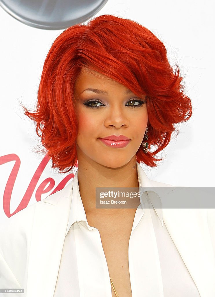 Singer Rihanna arrives at the 2011 Billboard Music Awards at the MGM Grand Garden Arena May 22 2011 in Las Vegas Nevada