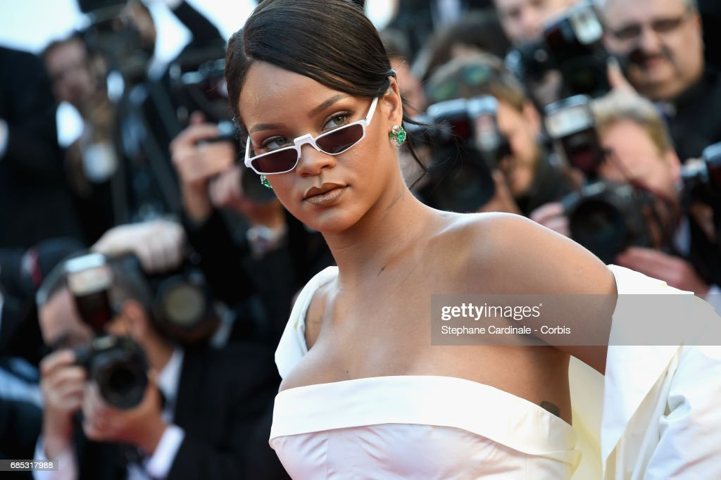Singer Rihanna attends the 'Okja' premiere during the 70th annual Cannes Film Festival at Palais des Festivals on May 19, 2017 in Cannes, France.