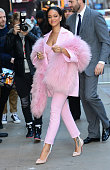 Singer Rihanna is seen arriving at 'Good Morning America'on March 13 2015 in New York City