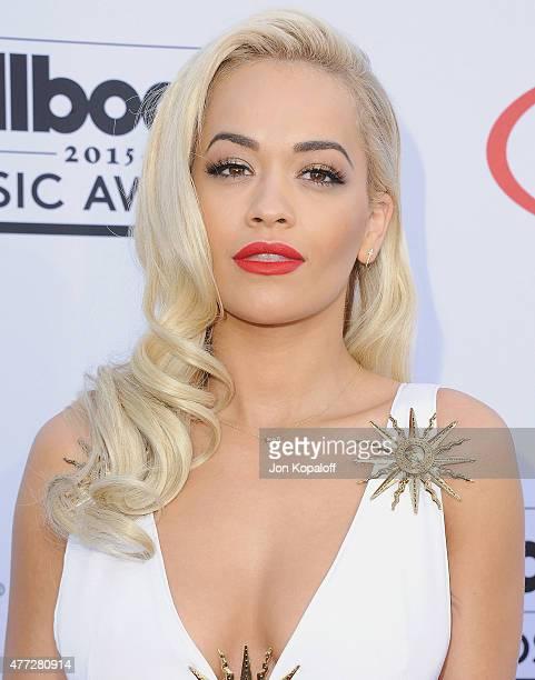 Singer Rita Ora arrives at the 2015 Billboard Music Awards at MGM Garden Arena on May 17 2015 in Las Vegas Nevada